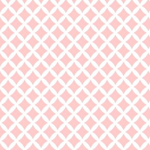Light Pink Modern Diamonds
