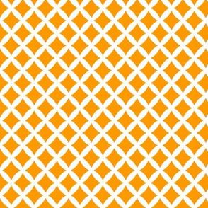 Orange Modern Diamonds