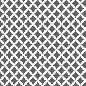 Charcoal Gray Modern Diamonds