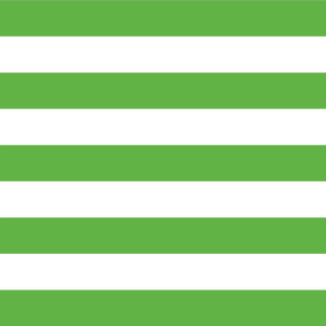 Kelly Green Wide Stripes