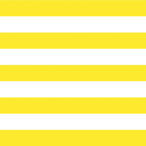 Yellow Wide Stripes