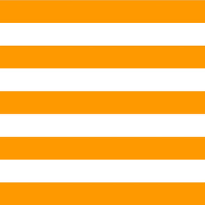 Orange Wide Stripes