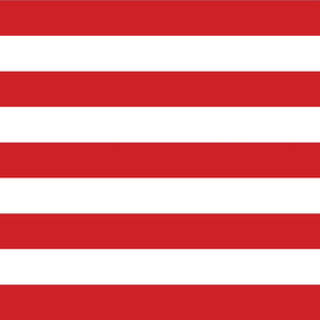 Red Wide Stripes