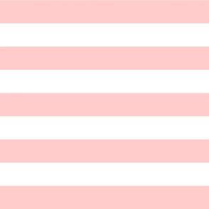 Light Pink Wide Stripes