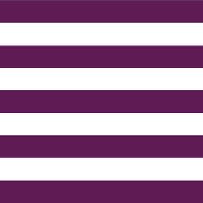 Plum Purple Wide Stripes