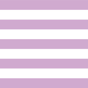 Lilac Purple Wide Stripes