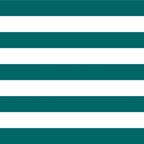 Dark Teal Wide Stripes