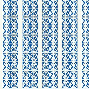kowhai stripe blue