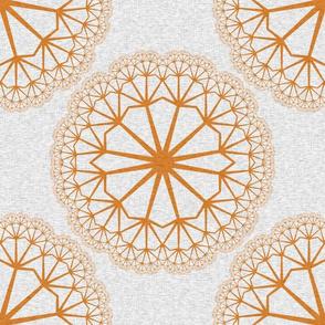 FlowerLinens - Orange