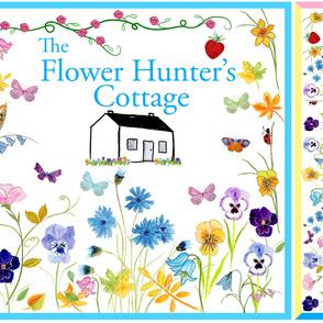 Flower Hunter's Cottage Silk Scarves