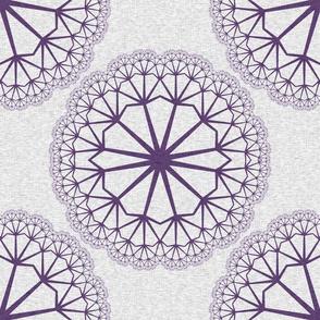 FlowerLinens - Purple