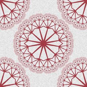 FlowerLinens - Red