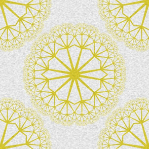 FlowerLinens - Yellow