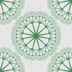 FlowerLinens - Green