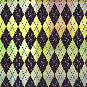 Argyle de Mardi Gras - Muted - Contest Scale
