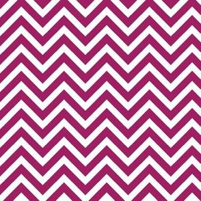 Berry Purple Chevron
