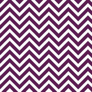 Plum Purple Chevron