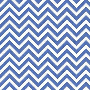 Royal Blue Chevron