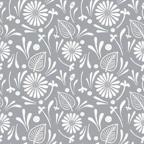 flora - gray