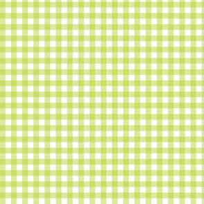 Apple Green Gingham