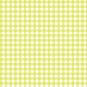 Lime Green Gingham