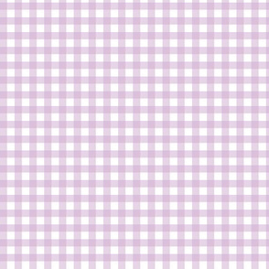 Lilac Purple Gingham