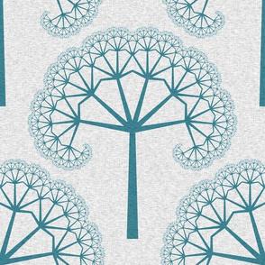 TreeLinens - Turquoise