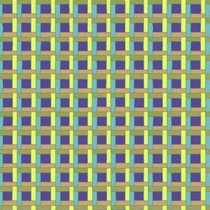 Garden Wicker Trellis violet and yellow