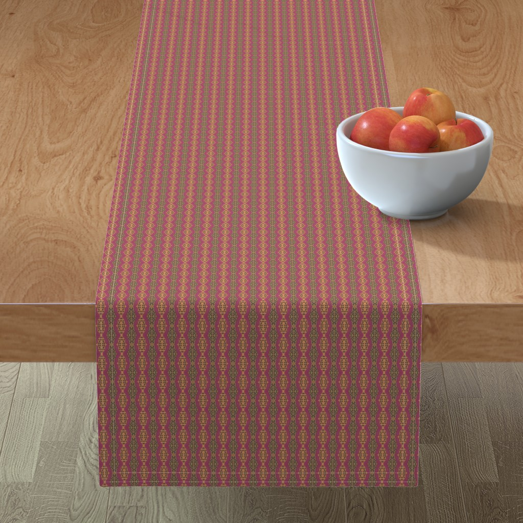 Minorca Table Runner featuring Katherine 2 by careyruhl