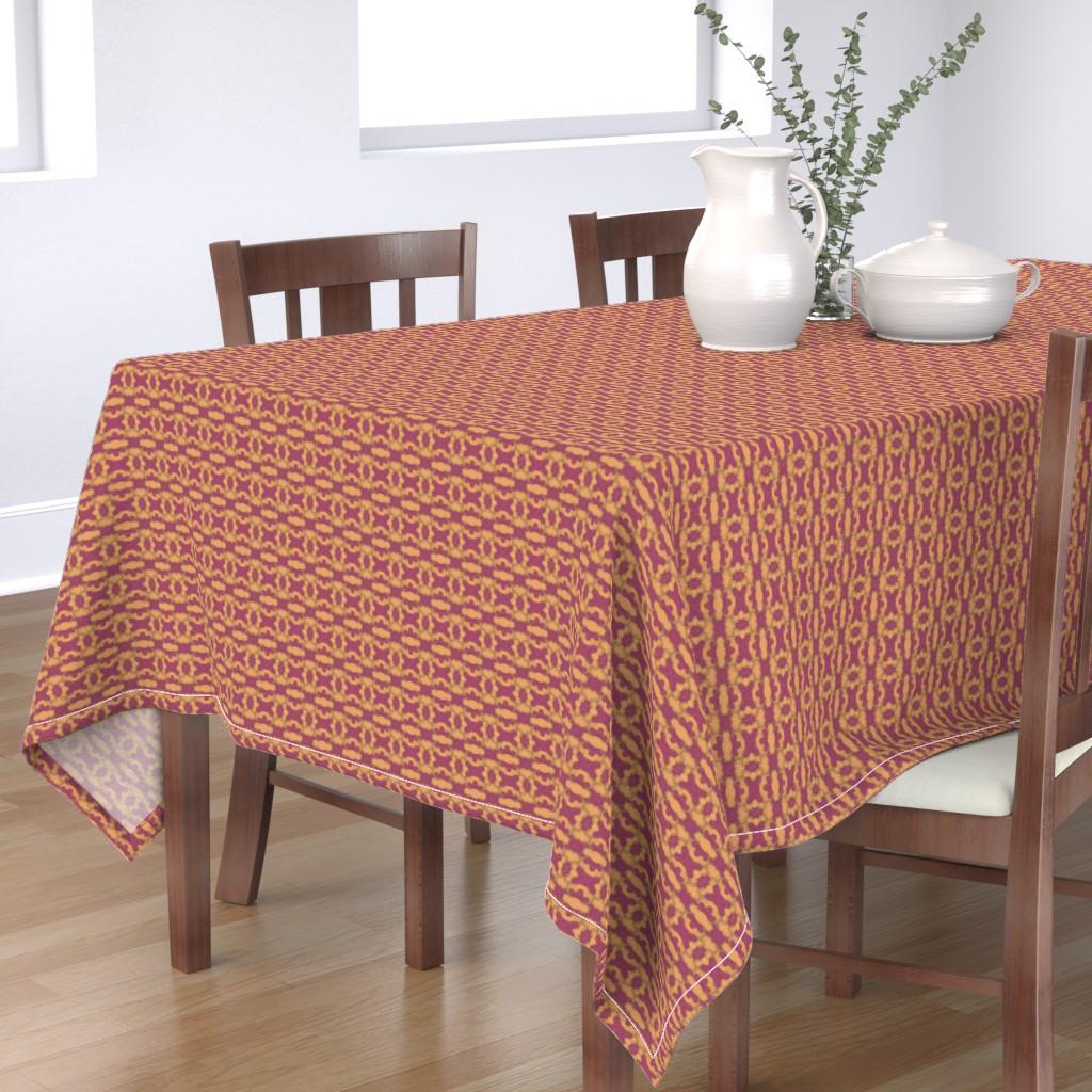 Bantam Rectangular Tablecloth featuring Katherine 1 by careyruhl