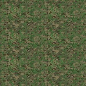 1/6 Scale Multi Terrain Pattern 'MTP' Woodland Variation Camo