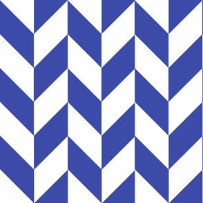 Blue-White_Herringbone