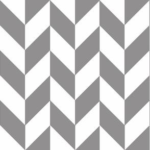 Gray-White_Herringbone