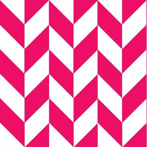 Pink-White_Herringbone