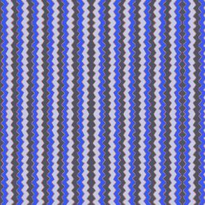 Zig Zag Stripe Blues