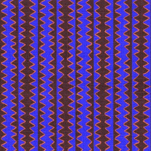Zig Zag Stripe Overlap