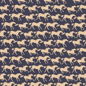 wild horses - dark ivory