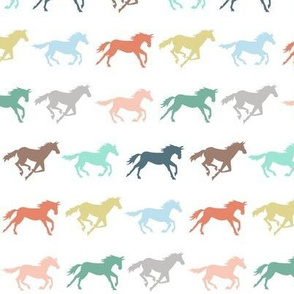 gallop - pastel