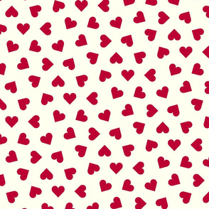 1_inch_scattered_lipstick_red_hearts_on_cream
