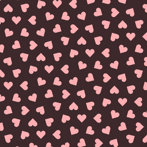 1_inch_scattered_pink_hearts_on_ink