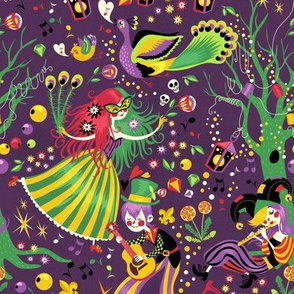 Mardi Gras Carnival Night
