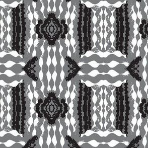 Bricks & Mortar Black & White