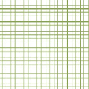 simple green plaid