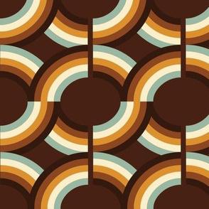 Circle brown