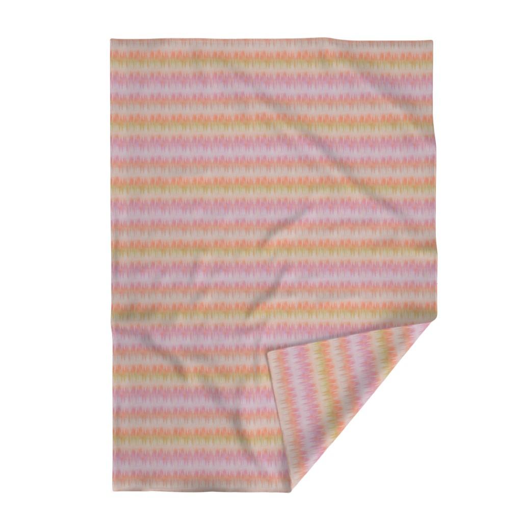 Lakenvelder Throw Blanket featuring twilight_ikat by glimmericks