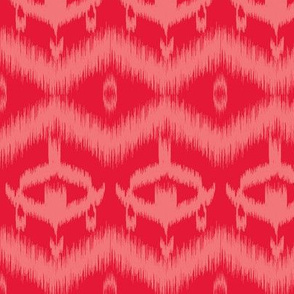Ikat Red
