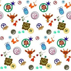 squirrel&owl's letterquilt