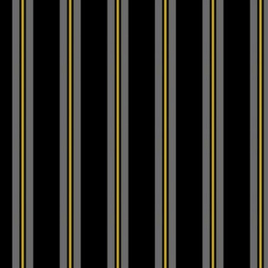 """""""Gray Stripe With Yellow"""""""