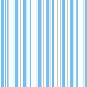 Pretty Sky Blue Stripes