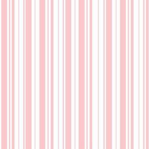 Pretty Pale Pink Stripes